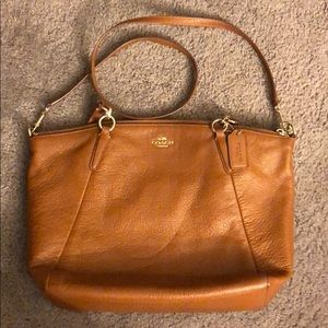 Coach Purse Brown Hobo Style / Shoulder Bag